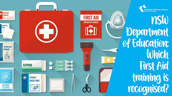 UPDATE: Which First Aid qualification is current (with advice from the NSW Department of Education)