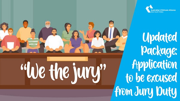 Updated Package: Template application to be excused from Jury Duty