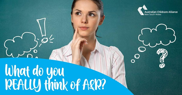 What do you REALLY think about Assessment & Rating?