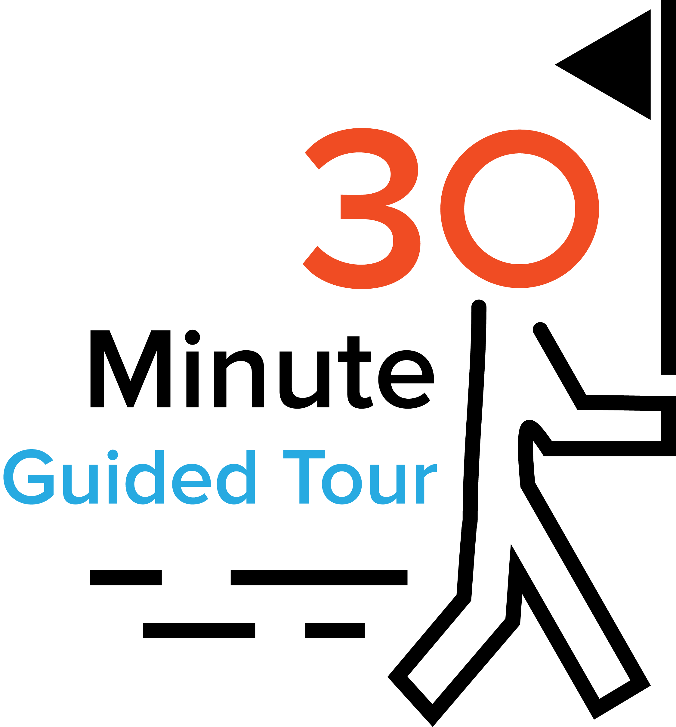 30 Minute Guided Tour Logo
