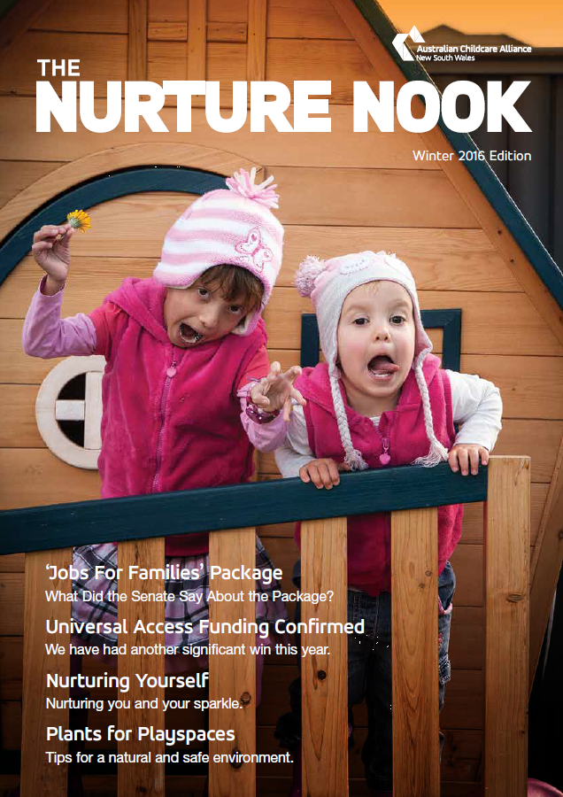 Nurture Nook Winter 2016 Cover