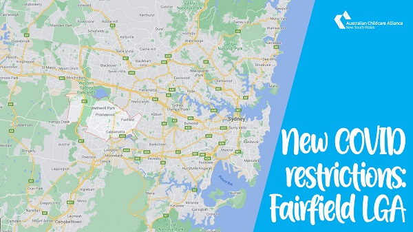 New COVID restrictions: Fairfield Local Government Area