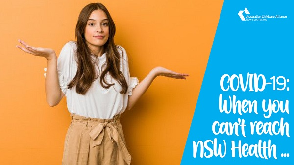 COVID-19: When you can't reach NSW Health