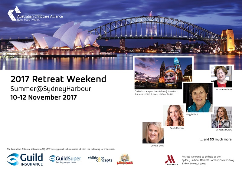 2017 Retreat Weekend Summer Sydney HarbourFront Cover banner V3