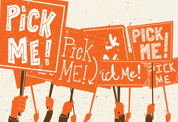 Pick Me Signs