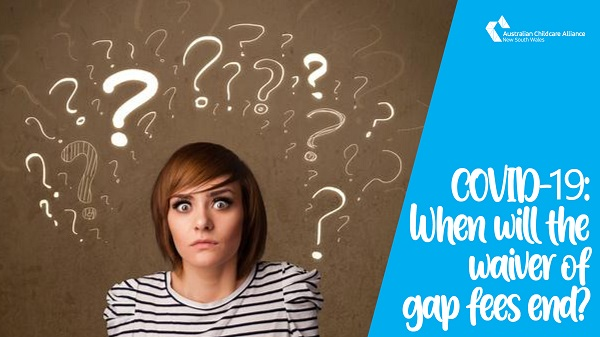 COVID-19: When will the waivers of gap fees end?