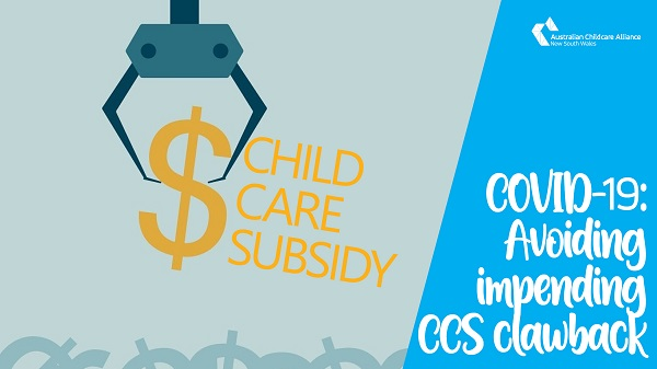 COVID-19: Avoiding the impending clawback of Child Care Subsidies