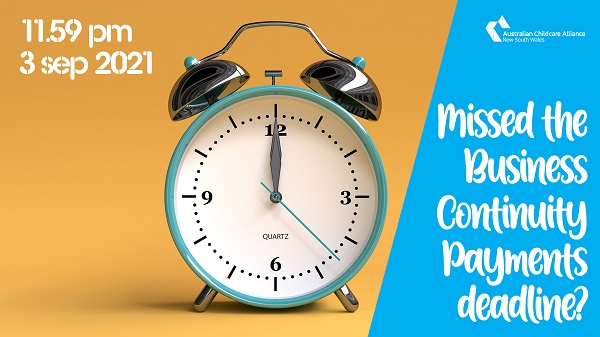 Missed the deadline for the new Business Continuity Payments?