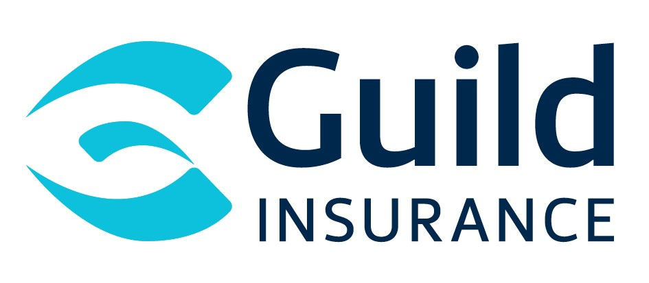 Guild Insurance Logo Navy Cyan